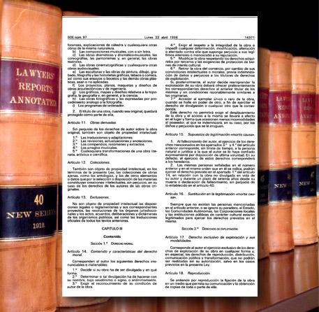 La Ley de la Propiedad Intelectual y los Derechos de Autor de los Contenidos de Andaltura