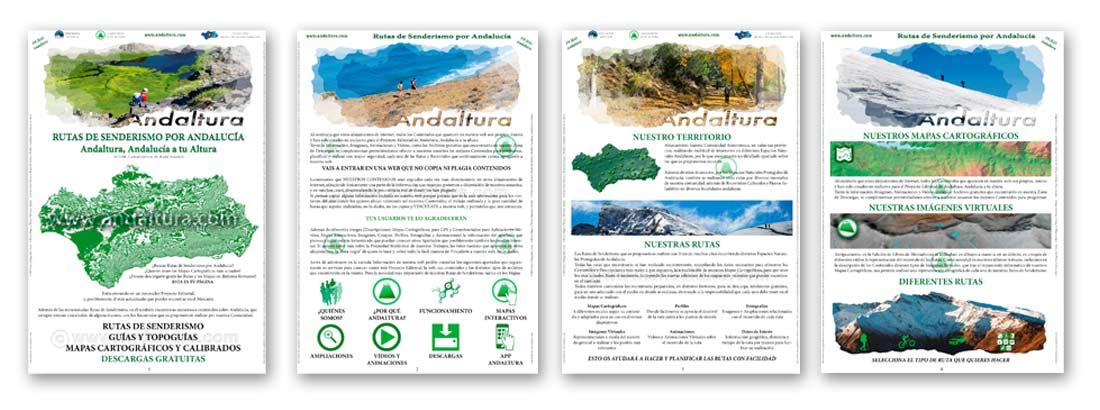 Ejemplo de los pdf gratuitos de las Fichas de Andaltura