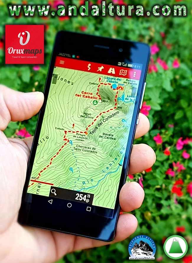 Mapas Cartográficos de las Rutas de Senderismo por Andalucía para Oruxmaps