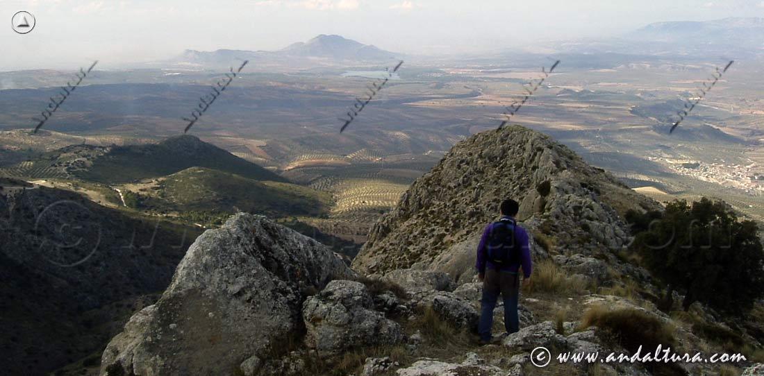 Peñón del Cuchillo - Parque Natural Sierra de Huétor -