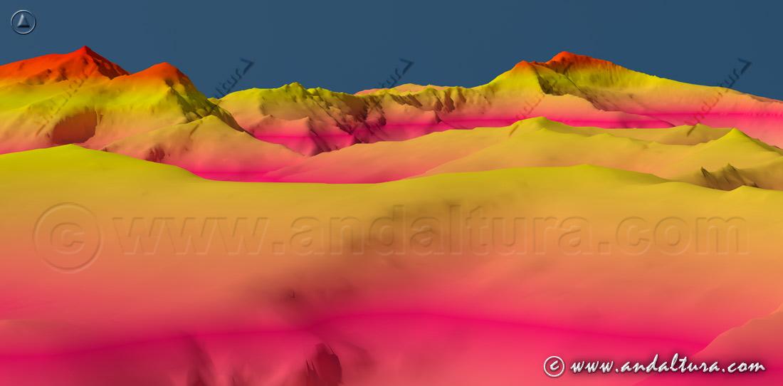Los Colosos de Sierra Nevada