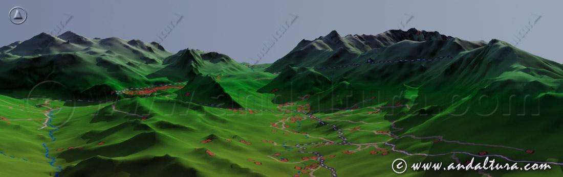 Imagen Virtual Parque Natural Sierra de las Nieves