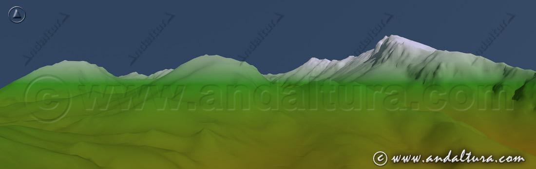 Imagen vertiente norte de la Sierra del Pinar