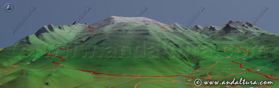 Imagen Virtual Sierra de Huétor