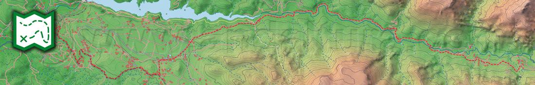 Los Mapas Cartográficos de las Rutas de Senderismo por Andalucía de Andaltura son los más actuales que puedes encontrar