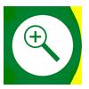 Icono Lupa que aparece en las Imágenes y Mapas para ampliar en Andaltura