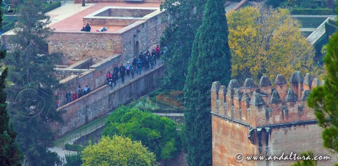 Recorrido por el Portal de la Alhambra