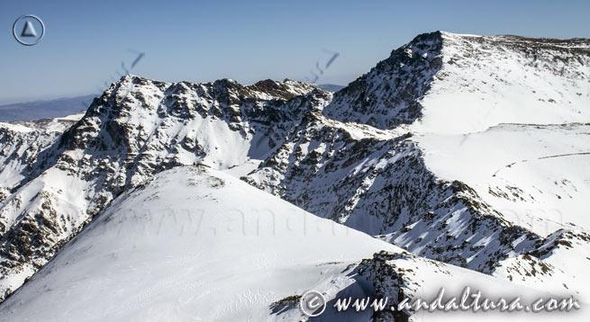 """Teclea en la imagen y accede a la Alta Montaña de Andalucía: los """"Tresmiles"""" de Sierra Nevada"""