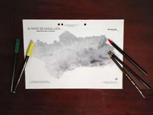 Teclea en la imagen y accede a los Mapas Mudos de Andalucía