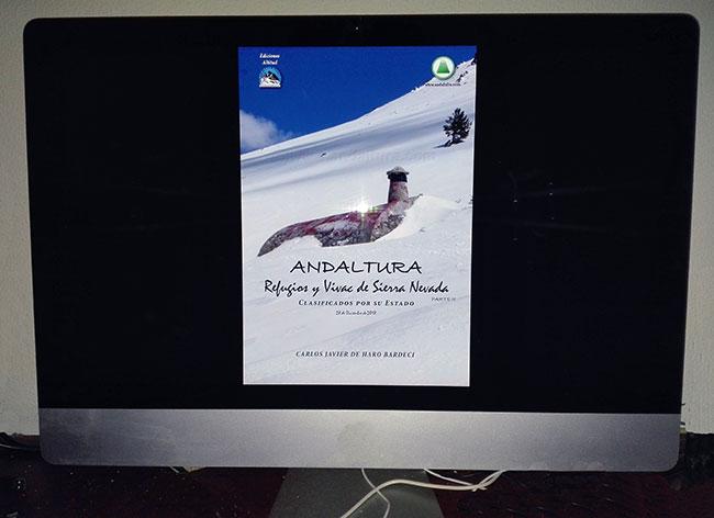 Ejemplo de PDF interectivo de las Guías y Topoguías Gratis de Andaltura