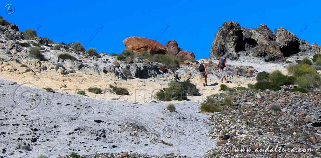 Ruta de Senderismo por la Cala de los Amarillos - Parque Natural Cabo de Gata - Níjar -
