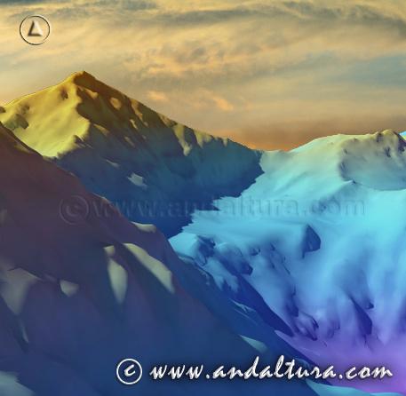 Teclea sobre la imagen y accede a otras Imágenes Virtuales de las Rutas de Senderismo por Sierra Nevada