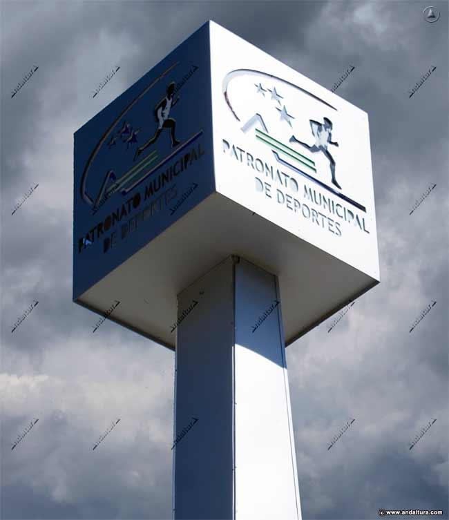 Logo del Patronato Municipal de Deportes de Torrox que copia y plagia los contenidos de Andaltura sin nuestro permiso