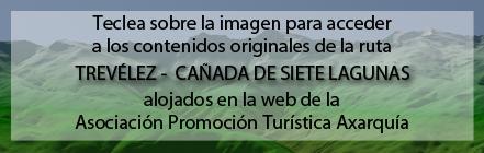 Ruta Plagiada de la Ruta de Trevélez a 7 Lagunas de Andaltura en la web de la Asociación Promocion Turística Axarquía
