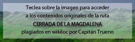 Ruta Plagiada de la Cerrada de la Magdalena de Andaltura en wikiloc
