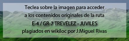 Ruta del GR7 de Trevélez a Juviles de Andaltura en wikiloc