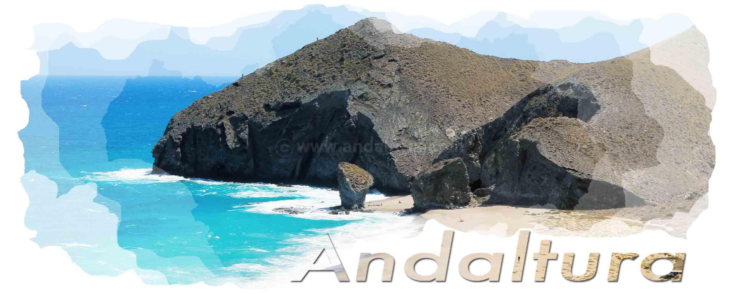 Cabecera Quienes Somos Equipo de Andaltura. Playa y Punta de los Muertos
