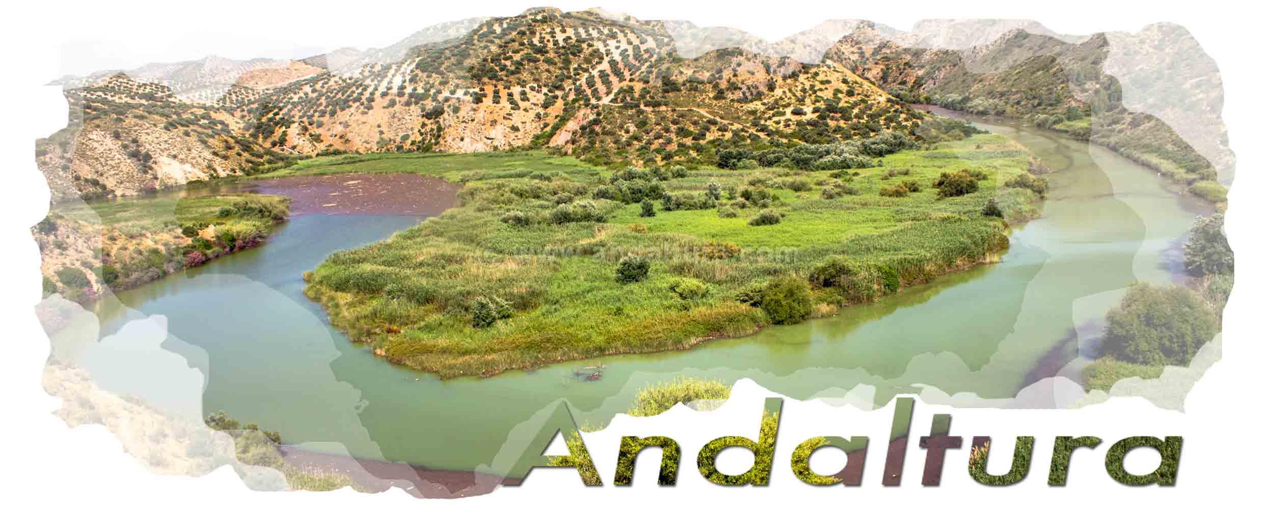 Cabecera ampliaciones de Andaltura. Meandro del Río Genil