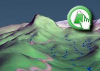 Imagen virtual del Trevenque plagio Ruta GR7 de Lanjaron a Sorportujar de wikiloc