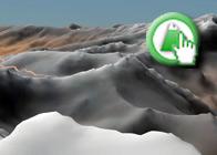 Imagen Virtual del Puntal de la Caldera de la Ruta Plagiada del GR142 de Fondales a Busquístar