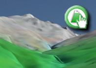Imagen virtual del Cerro del Caballo de la Ruta plagiada del GR142 de Lanjarón a Órgiva 2