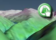 Imagen Virtual del Cerro del Mojón Alto de la Ruta Plagiada del GR142 de Órgiva a Fondales
