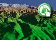 Imagen virtual del Cerro del Caballo de la Ruta plagiada de Lanjarón a las Casas de Tello por Ecitydoc