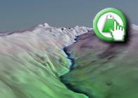 Imagen virtual del Cerro del Caballo de la Ruta plagiada de Lanjarón a las Casas de Tello por el Ayuntamiento de Torrox