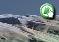 Imagen virtual del Alto de San Juan y el Chullo de la Ruta plagiada de Lanjarón a las Casas de Tello por la Asociación Promoción Turística Axarquía