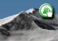 Imagen Virtual del Cerro de los Machos de la Ruta Plagiada deLanjarón al Refugio Ventura en wikiloc