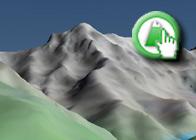 Imagen virtual norte de la Alcazaba plagio de la Ruta de los Lavaderos de la Reina 1