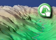 Imagen Virtual del Valle del rio Castril de la Ruta Plagiada del Nacimiento del río Castril del blog de encarna