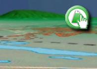 Imagen virtual Laguna de Fuente de Piedra del plagio de la Ruta del Laguneto