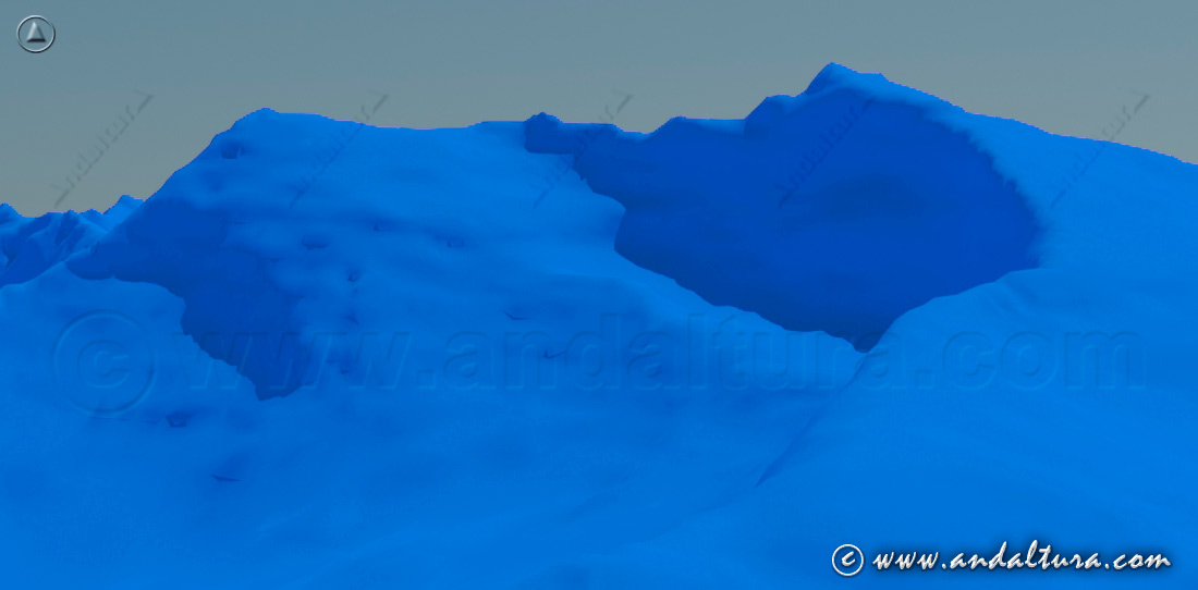 Imagen virtual del corral del Veleta