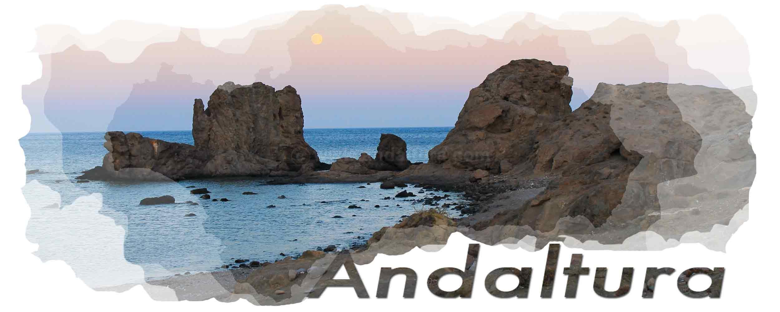 Cabecera del plagio de la Ruta de Lanjarón a las Casas de Tello de Andaltura por Radio Torrox. Playa del Embarcadero