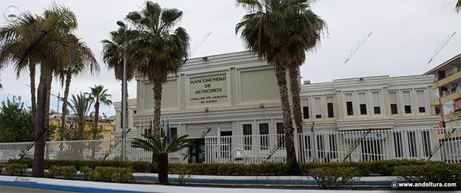 Edificio de la Asociación Promoción Turística Axarquía donde plagian contenidos de Andaltura
