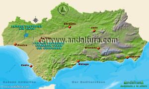 Espacios Naturales Protegidos de Andalucía - Mapa y Acceso a los Paisajes Protegidos -