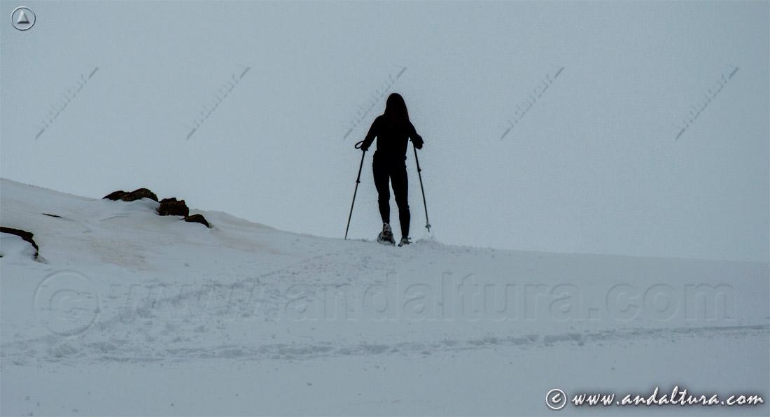Ruta con raquetas de nieve en Sierra Nevada