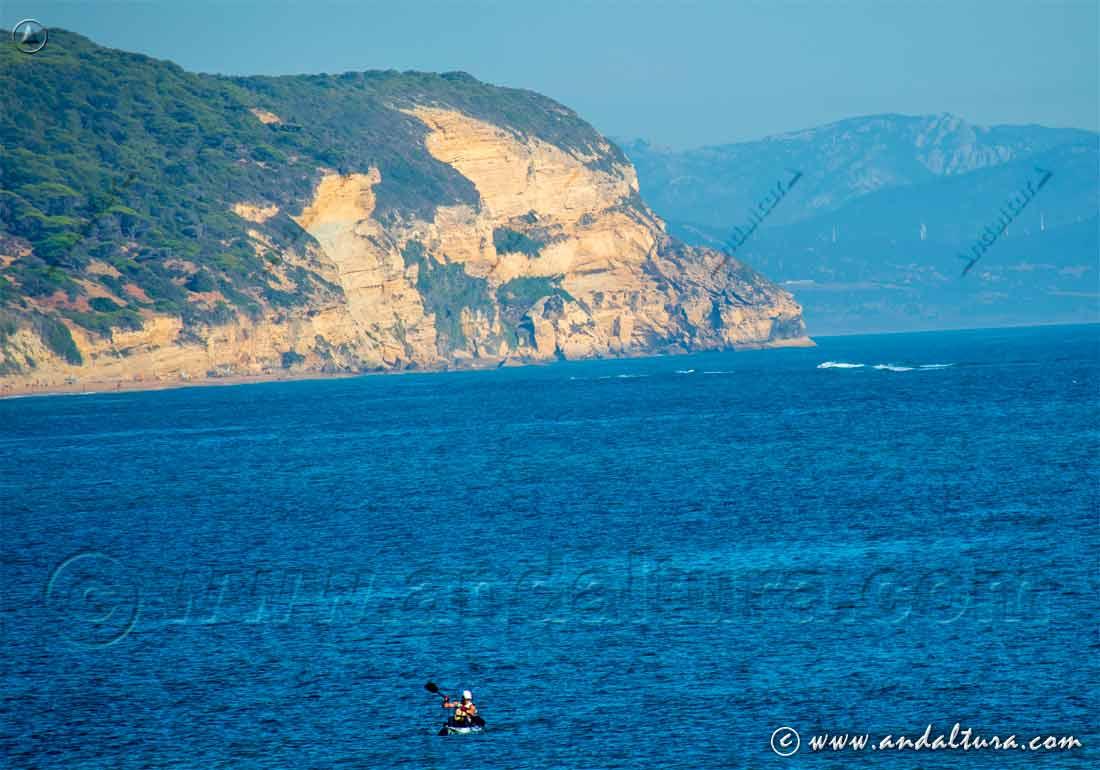 Recorrido en canoa por el Océano Atlántico - Cádiz -