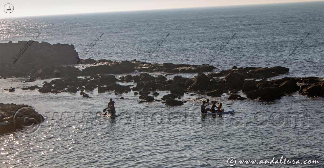 Recorrido en Canoa por las Calas del Cabo de Gata