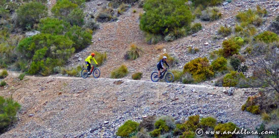 Actividades Deportivas y Turísticas en Andalucía, Rutas en BTT