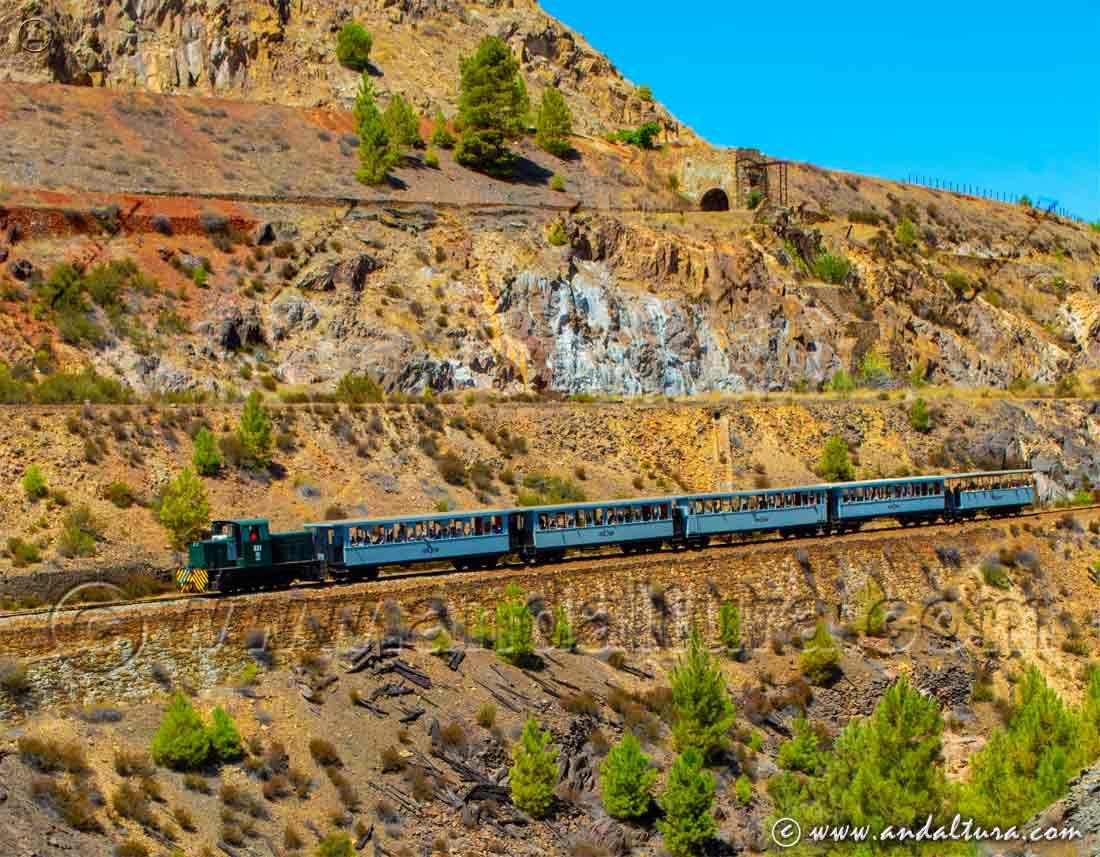 Tren Turistico Cuenca Minera - Minas de Riotinto -