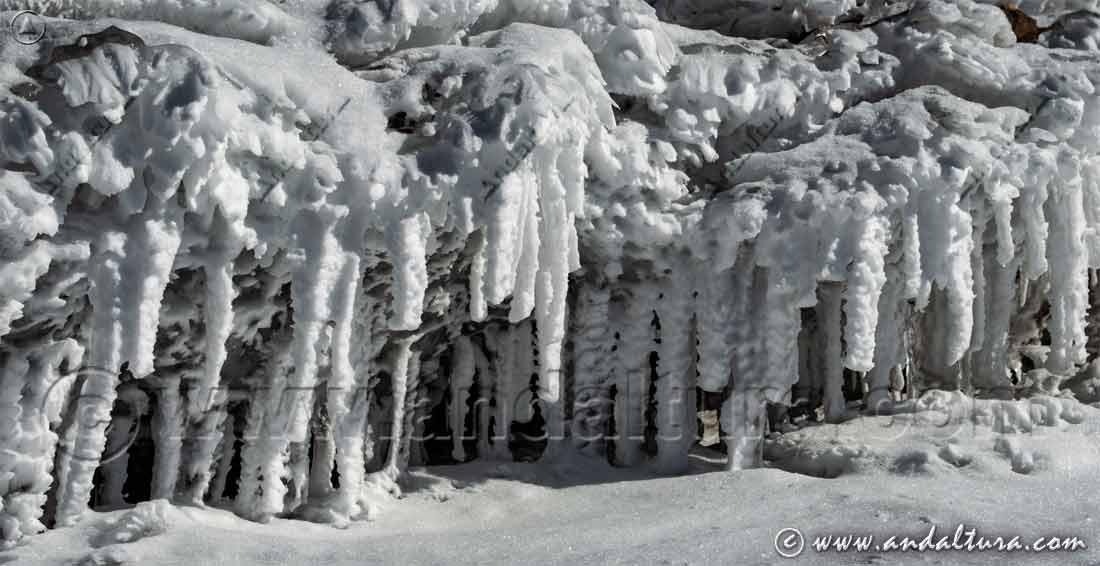 Clima de Andalucía - Alta Montaña - Detalle helado