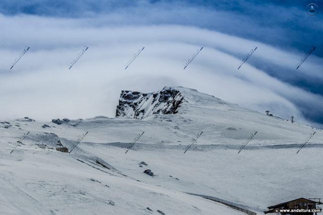 Estación de Esquí Sierra Nevada, el Veleta