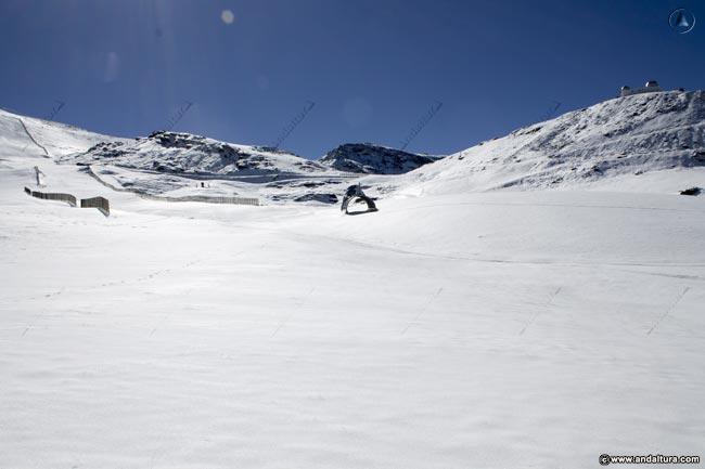 Estación de Esquí Sierra Nevada: Zona de Principiantes y Esquí Familiar – Área de Borreguiles – Pista del Mar