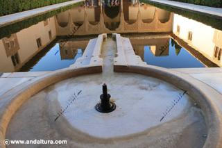 La Alhambra y el Generalife: Fuente y Alberca del Patio de los Arrayanes