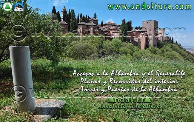La Alhambra y el Generalife: anuncio Redes Sociales Andaltura Visita la Alhambra