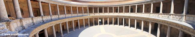 La Alhambra y el Generalife: Palacio de Carlos V