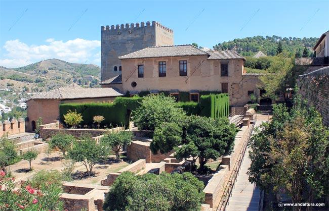 La Alhambra y el Generalife, Palacio Nazaríes