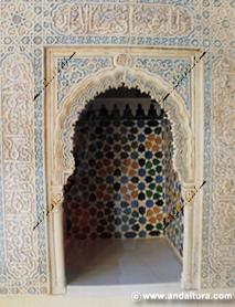 La Alhambra y el Generalife: Tacas en la Sala de la Barca, Palacio de Comares